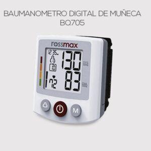 Baumanometro Digital De Muñeca Rossmax