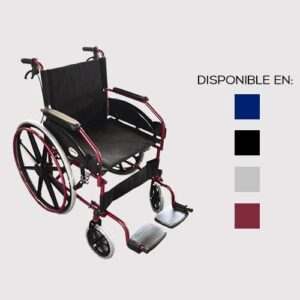 Silla De Ruedas Con Descansa pies Desplegable