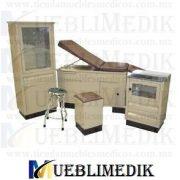 juego de consultorio medico cafe mueblimedik