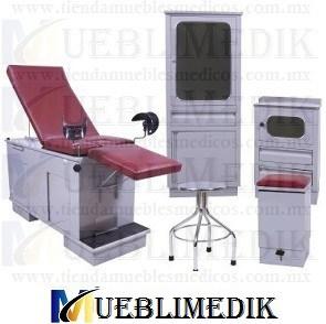 juego de consultorio medico rojo mueblimedik